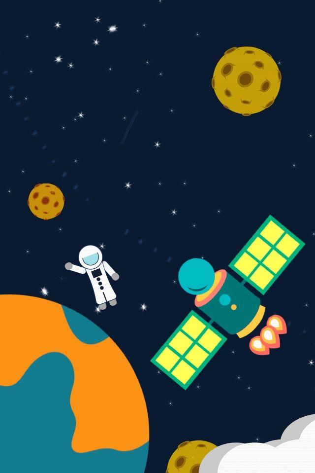 우주 비행사 우주 우주 행성 하늘 자유형 만화 그림 이미지를 Pngtree 로열티 무료 Abstract Iphone Wallpaper Space Planets Astronaut