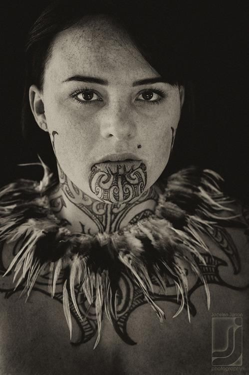 Female Maori Mouth Tattoos: 7 Best Chin Tattoo Images On Pinterest