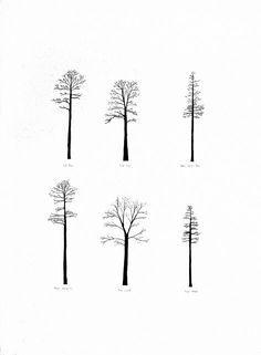Image result for minimalist tree tattoo