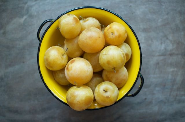 Vanilla Bean Yellow Plum Jam - from Food in Jars