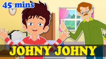 Johny Johny Yes Papa & Popular Nursery Rhymes Collection | Max And Louie http://video-kid.com/21060-johny-johny-yes-papa-popular-nursery-rhymes-collection-max-and-louie.html  Johny Johny Yes Papa is a nursery rhyme about little Johny who loves sugar and has sugar without is daddy's consent and gets caught. There are also amny other fun rhymes in this collection like Old McDonald, London Bridge is falling down and many more with various friendly animals along with Max and Louie. We have also…