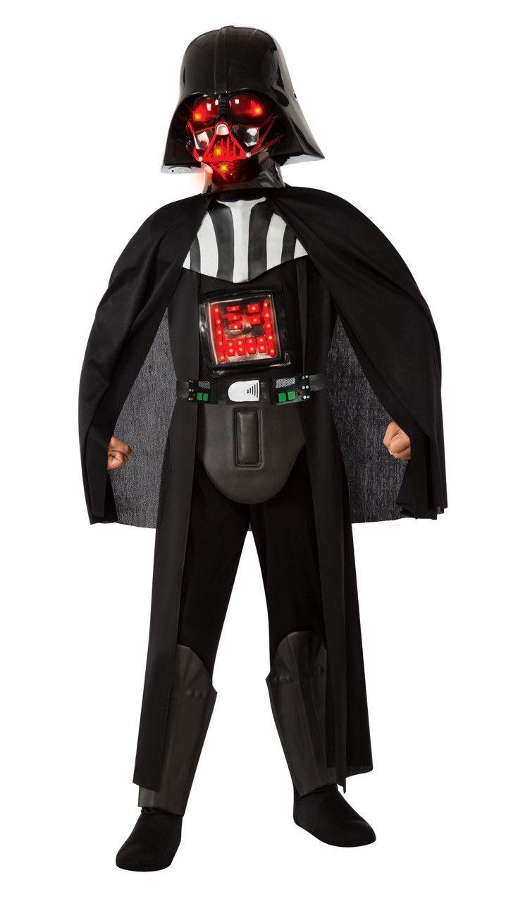 Star Wars Deluxe Darth Vader Light Up Costume Child