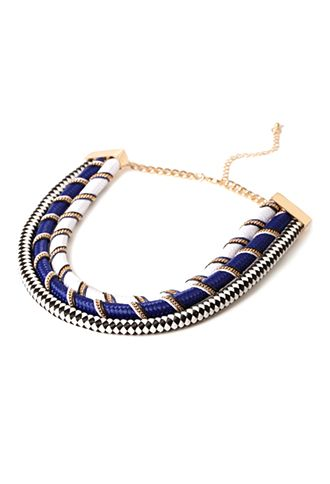 Rope Statement Necklace | Forever 21 - 1000097676
