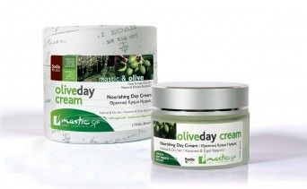 Nourishing Day Cream Normal & Dry Skins With Mastic & Greek Olive Oil Ages: 27+  1,7 fl. oz/ 50 ml  - See more at: http://www.greekpharma.com/shop/mastic-olive-day-cream-50ml/#sthash.EqTdWgJa.dpuf