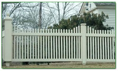 1000 Images About Colonial Fences On Pinterest