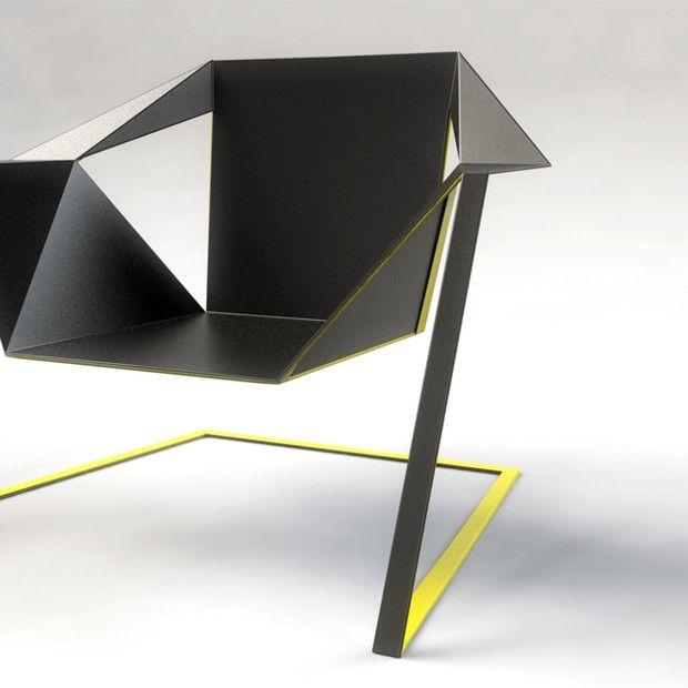 Zen Armchair by Rafael Morgan: Design Products, Rafael Morgan, Modern Chairs, Art Design, Products Design, Industrial Design, Furniture, Zen Armchairs, Design Studios