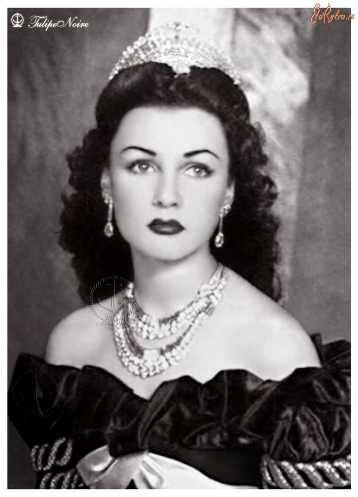 Princess Fawzia was of Albanian, French and Circassian descent. She divorced the Shah of Iran in 1948 and returned to Egypt.