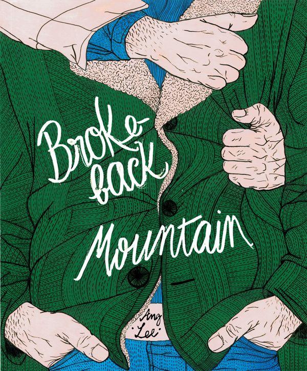 BrokeBack Mountain #Movie #Poster by Helena Morais Soares