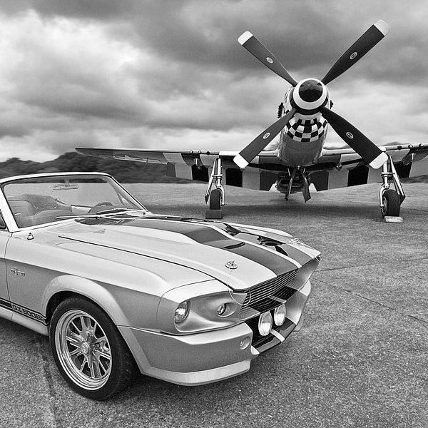 A Classic Sixties American Muscle Car, A 1967 Eleanor Ford