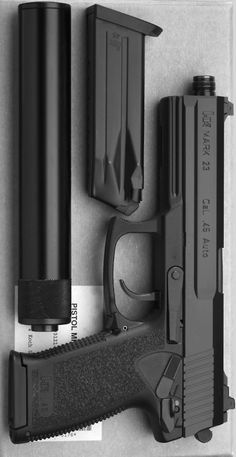 Heckler & Koch MK23 .45acp Find our speedloader now!  http://www.amazon.com/shops/raeindLoading that magazine is a pain! Get your Magazine speedloader today! http://www.amazon.com/shops/raeind