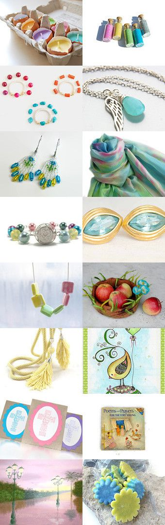 Spring Bouquet by Stephanie on Etsy--Pinned with TreasuryPin.com