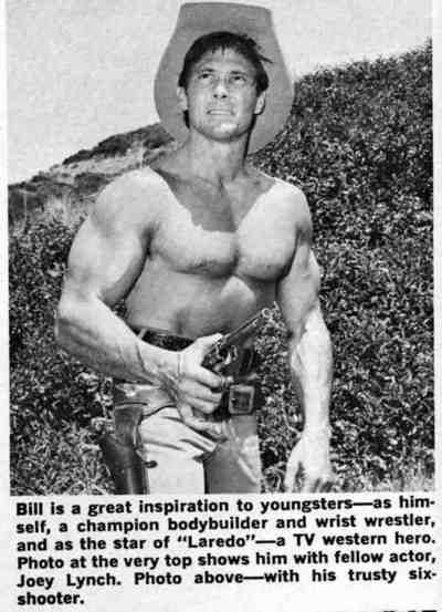 bill smith in laredo tv series muscles pinterest