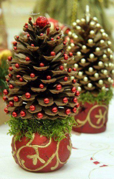 Árvore de Natal com arranjo
