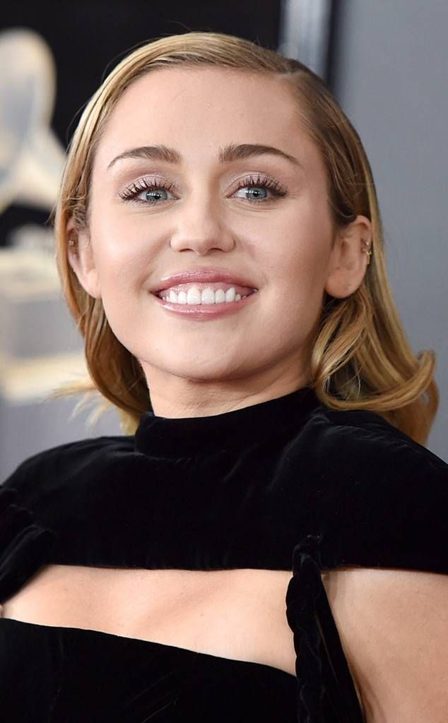 Miley Cyrus From Best Beauty At The Grammy Awards 2018 In