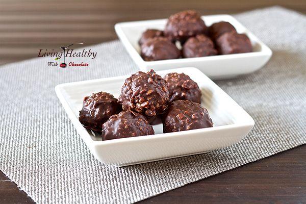 Homemade Ferrero Rocher...one of my favorite chocolates!!!