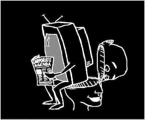 Nie tylko ja uważam, że jesteśmy przez telewizję karmieni ścierwem.........