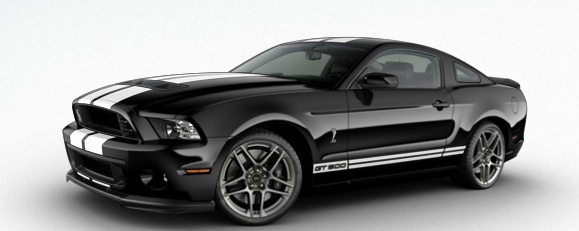 shelby GT500 convertibile