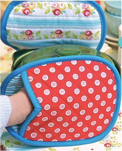 Free Potholder Sewing Patterns .... there are several really cute ones!