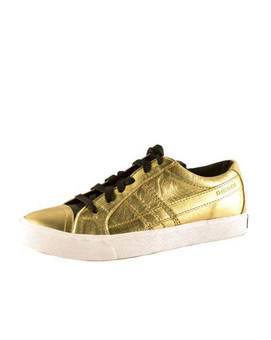 Diesel D-String Gold Sneaker