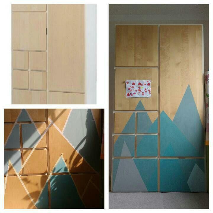 Ikea Rakke Kleiderschrank Mit Kreidefarbe Von Annie Sloan