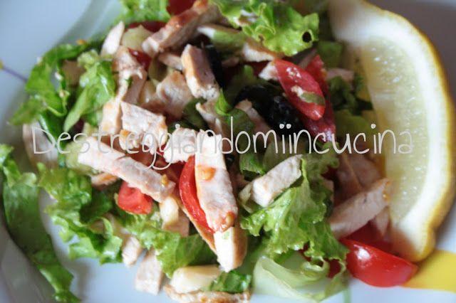 Destreggiandomi in cucina: Insalata di pollo - Caesar salad #pollo #chicken #insalatadipollo #caesarsalad