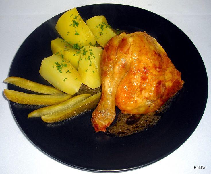 Nejedlé recepty: Drůbež Pečené kuře