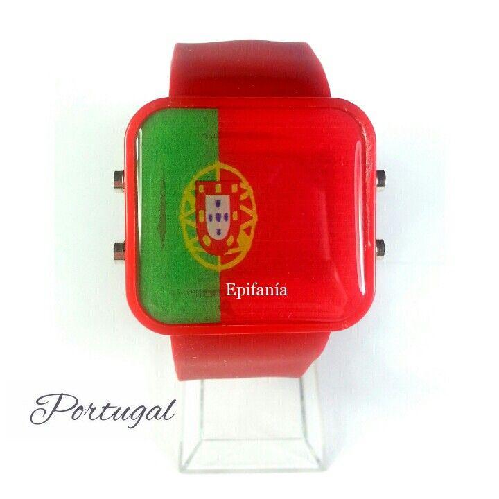 Reloj Led Portugal  Mas información : accesoriosepifania@gmail.com #whatsapp #584166557841 #584145154828 #584126739132 #BBPIN #79F4DB56 #26436394  Solicita tu catálogo!   #reloj #mundial #fútbol #brasil #españa #argentina #colombia #portugal #barcelona #realmadrid #moda #accesorios #fashion #look #estilo #style #urbano #instalook #instamoda #instapick #instagood #instafashion #modaurbana #enviosnacionales #enviosinternacionales #ventasalmayorydetal #venezuela #epifania