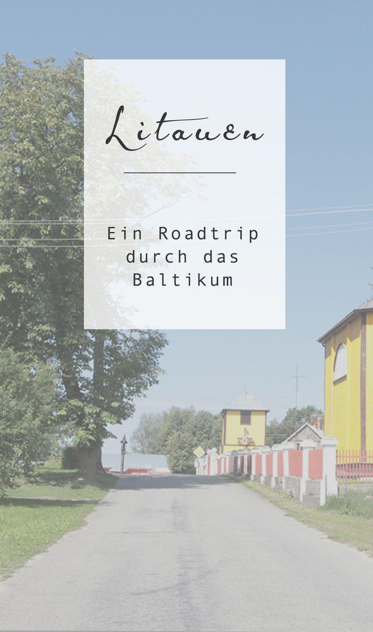 Baltikum-Rundreise durch Litauen #roadtrip #auto #camping #litauen
