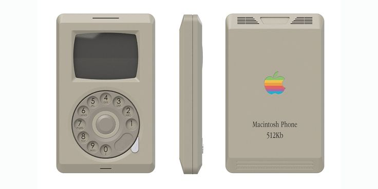 What would an Apple smartphone have looked like in 1984?