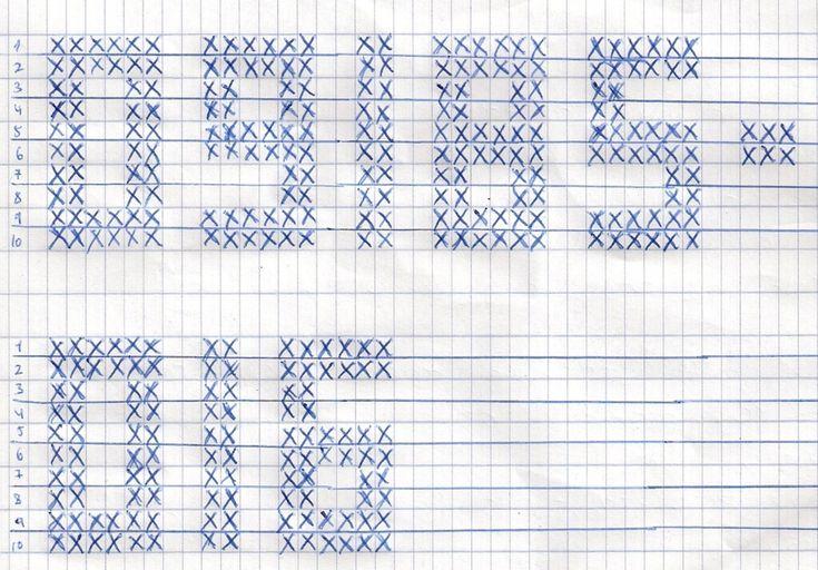 Crochet Pattern for Kipa with Jonathan's Reg Number