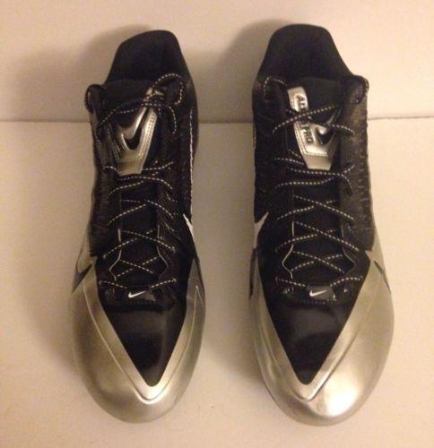 Nike-Alpha-Pro-Flywire-Size-16-Oakland-Raiders-Football-Cleats