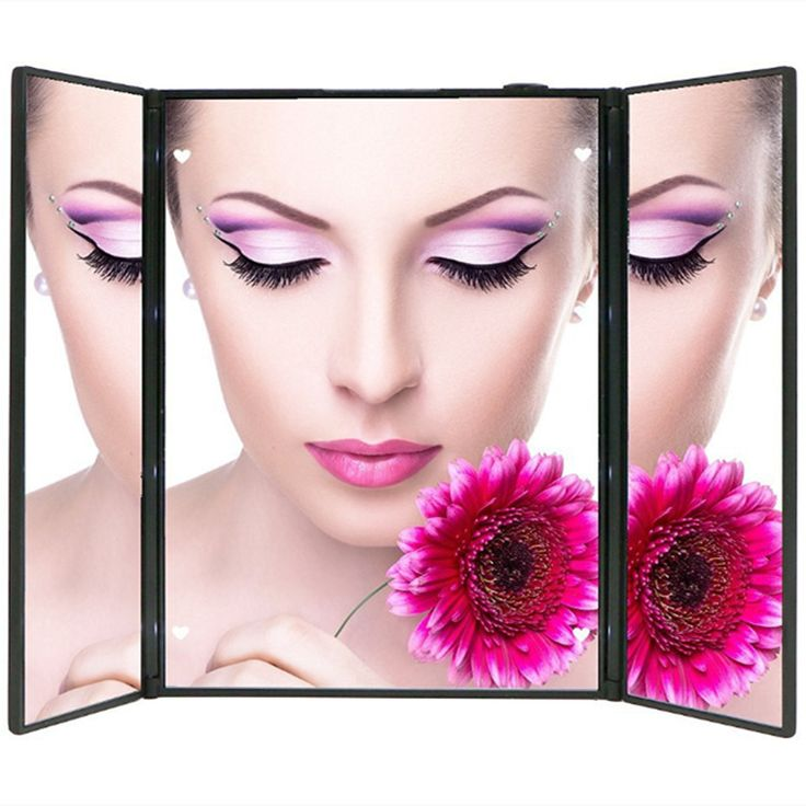 20 LED Battery Operated Cordless Touch Screen Lighted Vanity Beauty Mirror Makeup Mirror with LED Lights 10x magnifying makeup