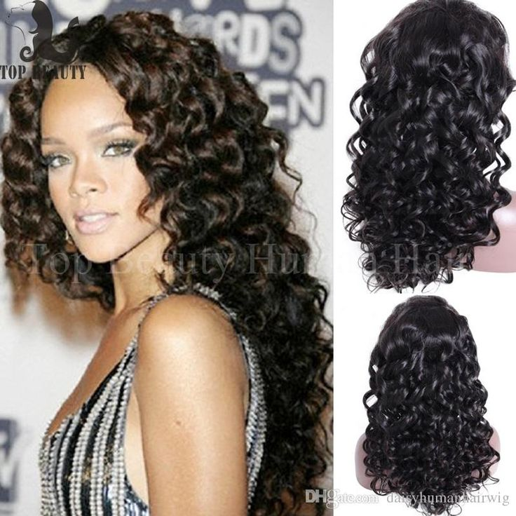 8 best rihanna celebrity hairstyles images on pinterest rihanna celebrity hairstyle 8a virgin brazilian lace front wig glueless full lace human hair wigs deep pmusecretfo Image collections