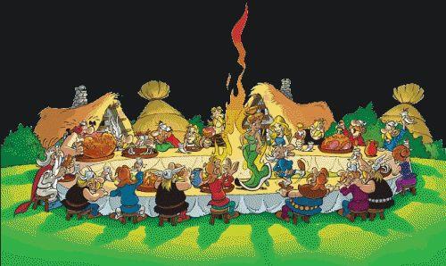 Banquet Gaulois #bullemonteregie #gardemangerqc