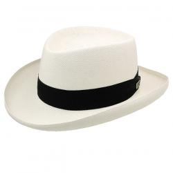 Basino - Panama Straw Gambler Hat