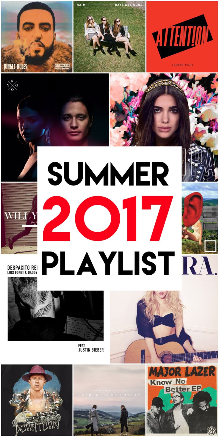 Summer 2017 Playlist, Tuesday 15 August 2017, hefafa.me.uk   I'm a huge fan of music (especially in the summer!), so here's a peek at my summer 2017 playlist!   What have been your favourite songs to listen to this summer?