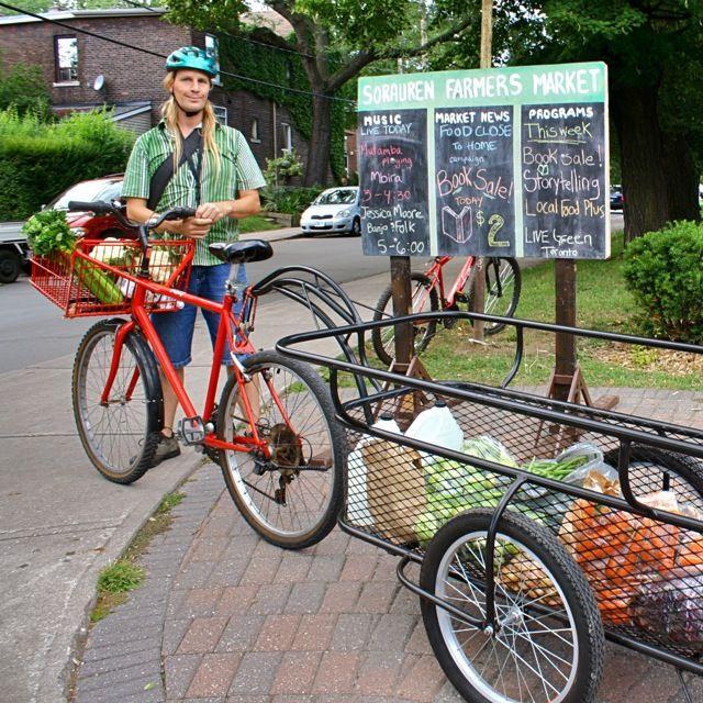 West End Food Co-op Bike Trailer by Emily Van Halem 640x640