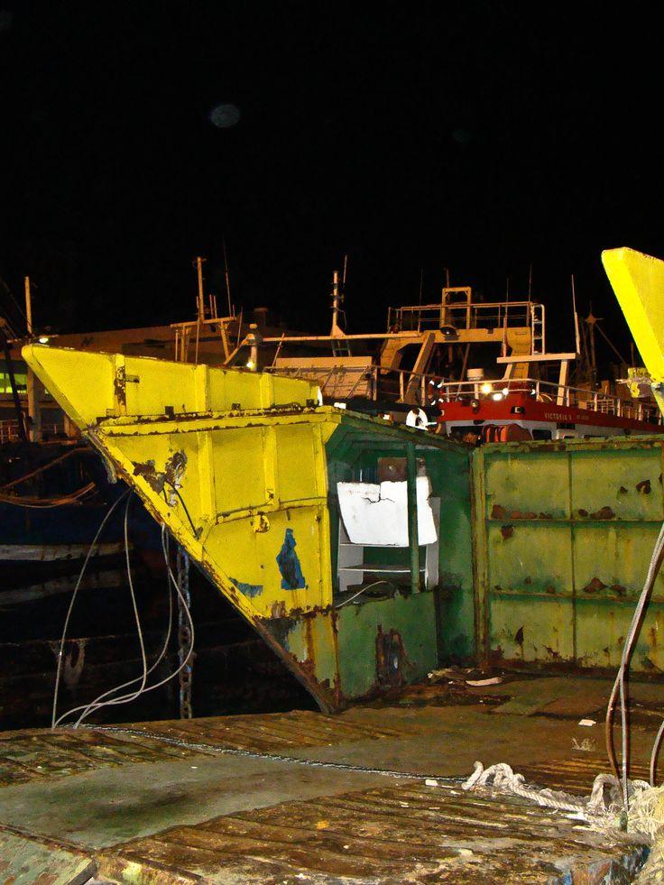 fish boats resting