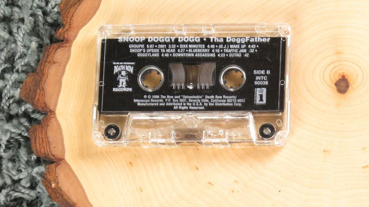 Snoop Doggy Dogg Tha Doggfather USA Cassette Tape Only  | eBay