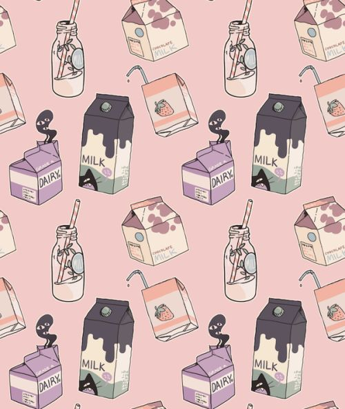 milk pattern | estampa leite e caixinhas