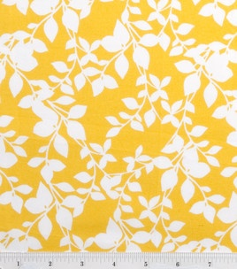 Pillow fabric for mud roomKitchens Curtains, Quilt Ideas, Rocking Chairs, Branches White, Mud Rooms, Kitchen Curtains, Yellow Duvet, Fabrics Leaves, Quilters Showcase