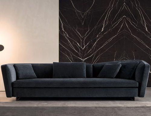 Contemporary sofa / fabric / leather / by Rodolfo Dordoni - SEYMOUR - Minotti