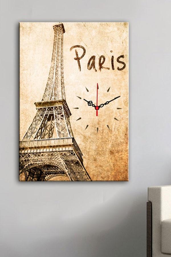decorative wall clock paris paris themed bathroom ideas. Black Bedroom Furniture Sets. Home Design Ideas