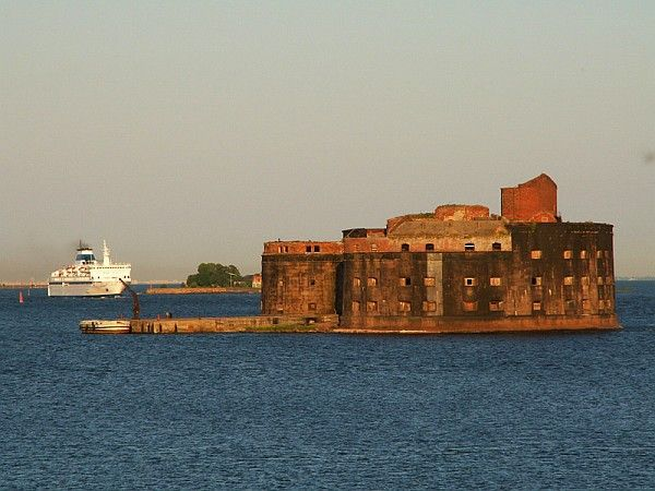 Форты Кронштадта Ленинградская область, Финский залив