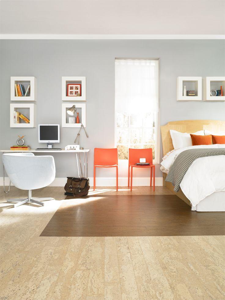20 best cork flooring ideas images on pinterest bedrooms cork flooring and cork flooring kitchen for Flooring options for bedrooms