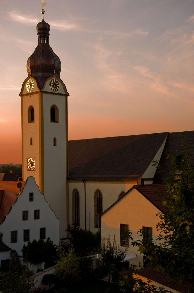 Schwandorf Germany - Church