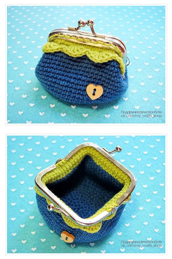 Crochet coin purse - idea