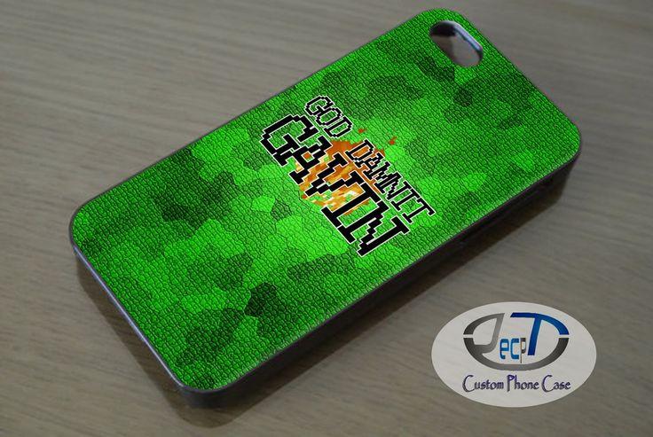Minecraft God Damnit Gavin Case iPhone, iPad, Samsung Galaxy, HTC Cases