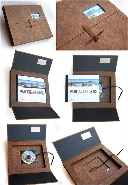Book box with CD inset by Rosa Guimarães of Zoopress Studio