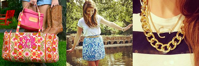 Top 5 Favorite Things of a Southern Sorority Girl